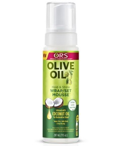 ORS Olive Oil Hold And Shine Wrap Set Mousse