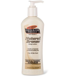 Cocoa Butter Formula Vitamin E Natural Bronze Body Lotion