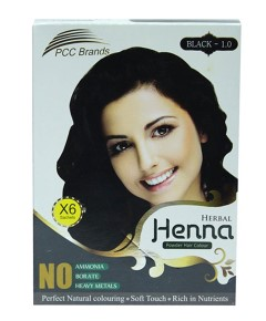 Black Herbal Henna Powder Hair Colour
