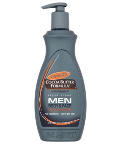 Cocoa Butter Formula Lotion With Pump For Men Body And Face