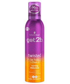 Got2b Twisted Be Frizz Free Curling Mousse