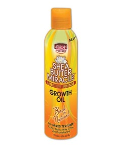 Shea Butter Miracle Growth Oil