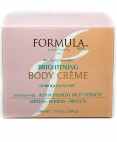 Formula AHA Beautifying Perfumed Body Creme