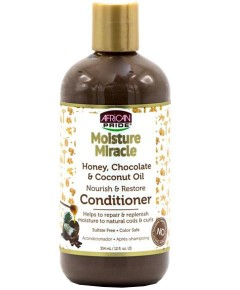 African Pride Moisture Miracle Honey Chocolate And Coconut Oil Conditioner