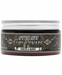 Apothecary87 Vanilla And Mango Clay Pomade