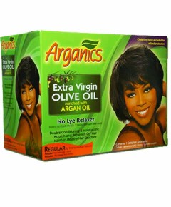 Extra Virgin Olive Oil Enriched With Argan Oil No Lye Relaxer