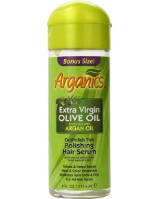 Extra Virgin Olive Oil Enriched With Argan Oil Polishing Hair Serum