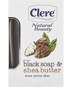 Natural Beauty Black Soap And Shea Butter