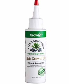 Growild Cactus And Black Seed Hair Growth Oil
