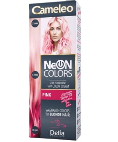 Neon Colors Semi Permanent Hair Color Cream