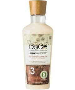 Curly Concoctions Re Define Foaming Gel