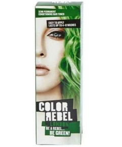 Color Rebel London Be Green Conditioning Hair Toner