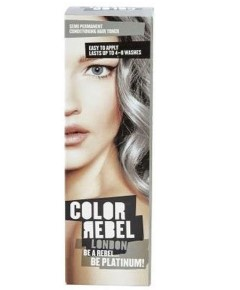 Color Rebel London Be Platinum Conditioning Hair Toner
