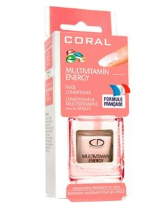 Coral Multivitamin Nail Therapy Base Coat