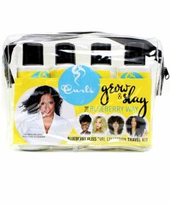 Blueberry Bliss Curl Collection Travel Kit