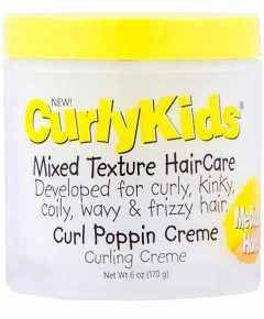 Curly Kids Curl Poppin Creme Medium Hold