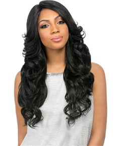 Empress Custom Lace Front Edge Syn Perm Romance Wig