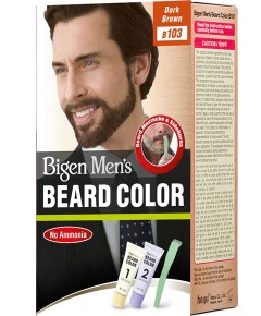 Mens Beard Colour Dark Brown B103