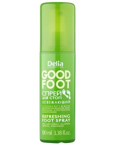 Delia Cosmetics Good Foot Refreshing Foot Spray