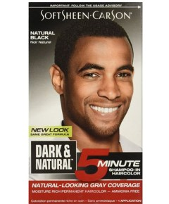 Dark And Natural Men Shampoo In Hair Color