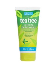 Tea Tree Exfoliating Facial Wash