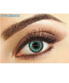 Eye Spy Two Tone Aqua Contact Lens