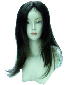First Lady Human Brazilian Lace Long Wig Niuomee