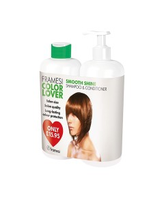 Color Lover Smooth Shine Shampoo And Conditioner Duo