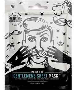 Barber Pro Gentlemen Sheet Mask