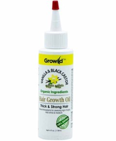 Growild Vanilla And Black Castor Hair Growth Oil