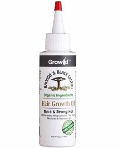 Growild Baobob And Black Castor Hair Growth Oil