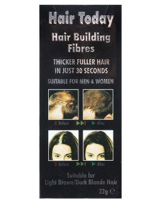 Hair Today Hair Building Fibres For Brown And Dark Blonde Hair