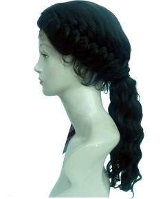 Dark Evolution Lace Now Syn Braid Seema Lace Wig