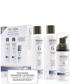 Hair System Kit 6 Noticeably Thinning