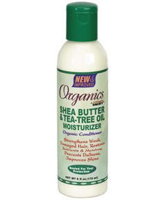 Organics Shea Butter And Tea Tree Oil Moisturizer