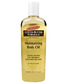 Cocoa Butter Formula Moisturizing Body Oil For Shower And Bath