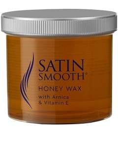 Satin Smooth Honey Wax With Arnica And Vitamin E