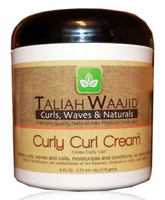 Taliah Waajid Black Earth Curly Curl Cream
