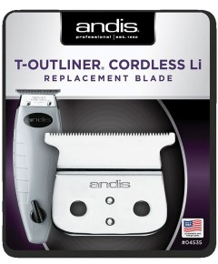 Andis T Outliner Cordless Li Replacement Blade 04535