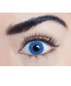 Xtreme Eyez Halloween Contact Lens Misty Blue