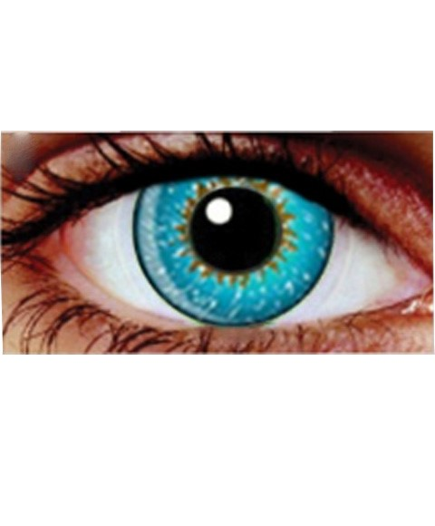 Eye Spy Three Tone Aqua Contact Lens