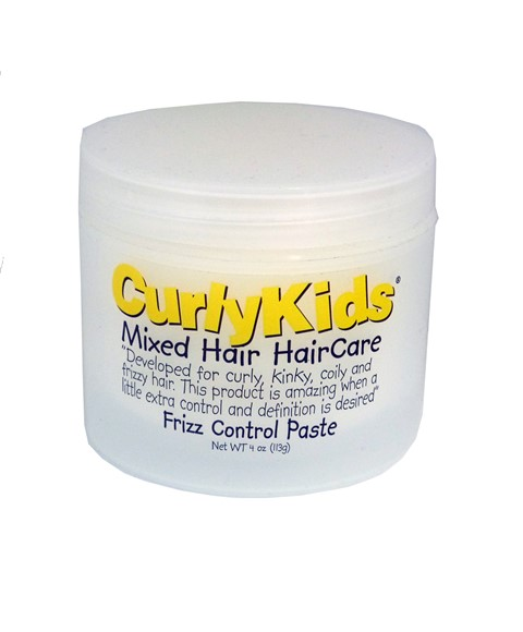 Curly Kids Mixed Hair Haircare Frizz Control Paste