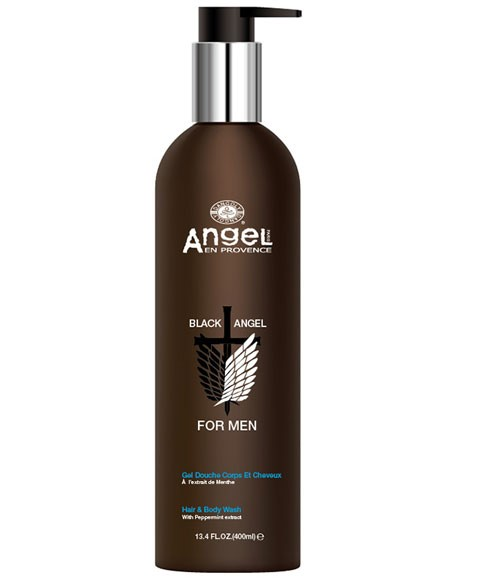 Black Angel For Men Hair And Body Wash