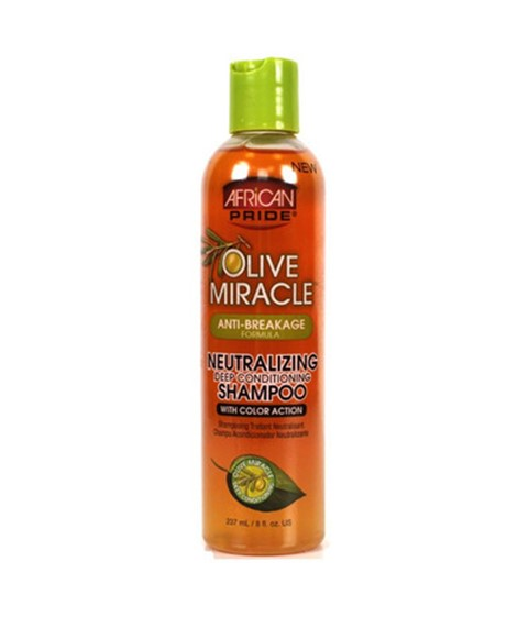 Olive Miracle Anti Breakage Neutralizing Condition Shampoo