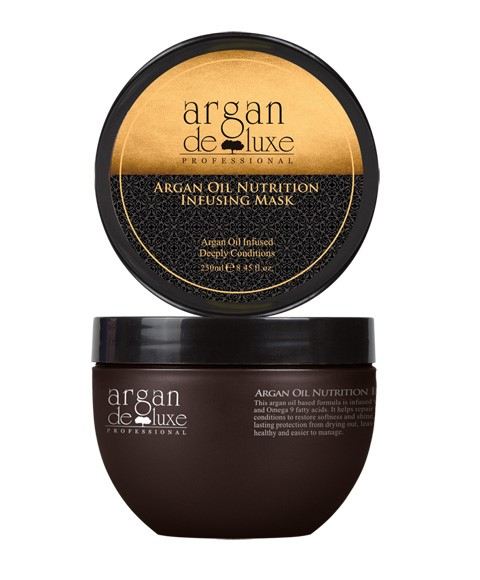 Argan Oil Infusing Nutrition Mask