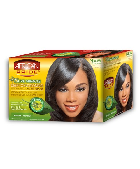 Olive Miracle Conditioning No Lye Relaxer