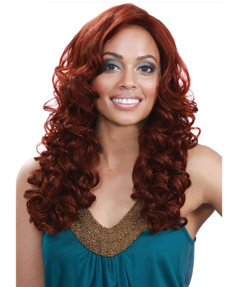 Bobbi Boss Syn MLF39 Henna Lace Front Wig