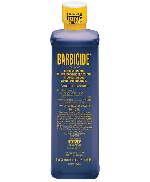 Barbicide Disinfactant Solution