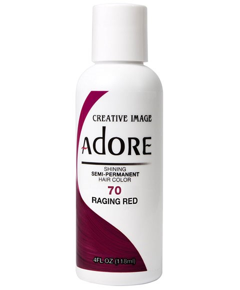 Adore Shining Semi Permanent Hair Color Raging Red