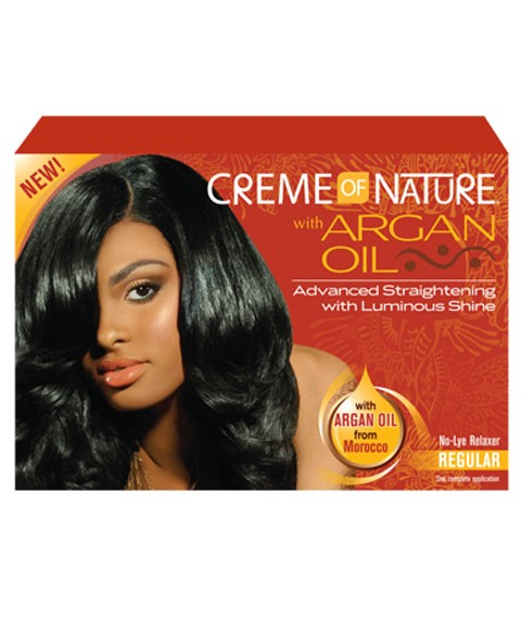 Argan Oil No Lye Relaxer